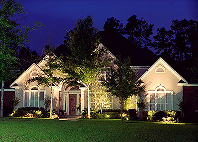 Landscape Lighting New Orleans Uptown Kenner Metairie Lakeview La