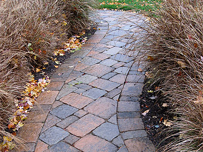 Sealed walkway pavers makes a beautiful and long lasting path